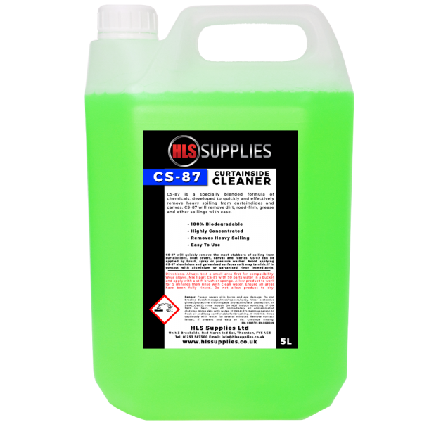 HLS CS-87 - Curtainside Cleaner 5L