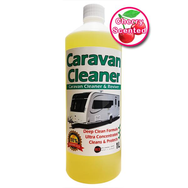 HLS Caravan Cleaner - Cherry Scented Cleaner & Reviver 1L