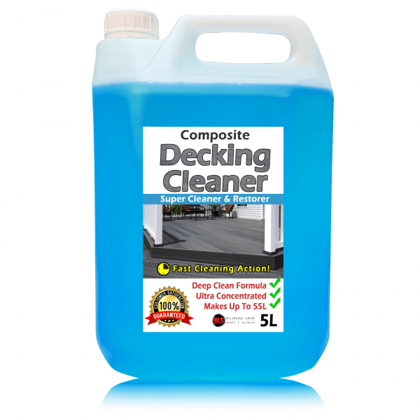 HLS Composite Decking Cleaner - Cleaner & Restorer 5L