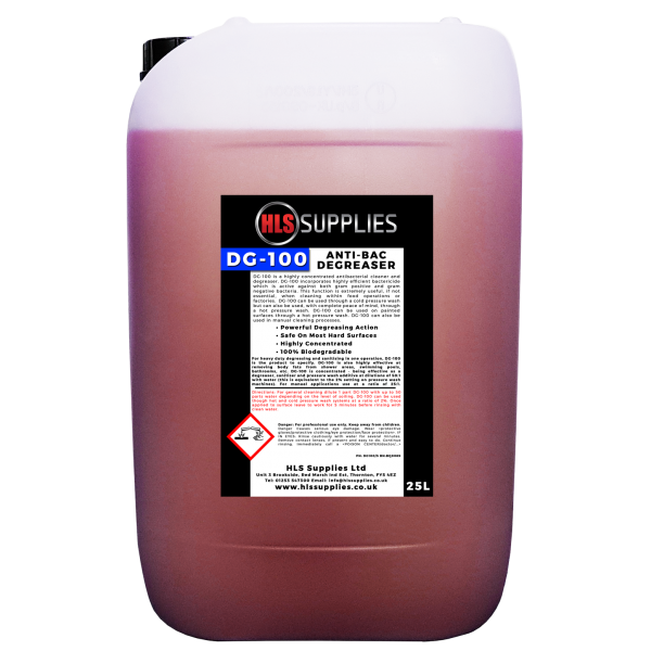 HLS DG-100 - Red Wash Anti-Bac Degreaser...