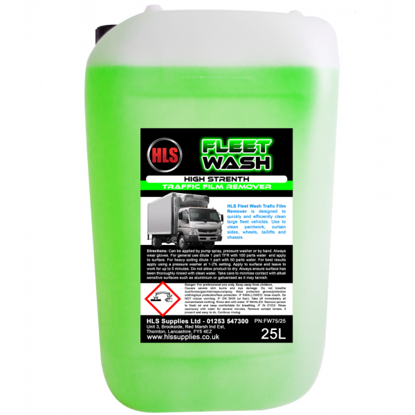 HLS Fleet Wash - Traffic Film Remover 25...