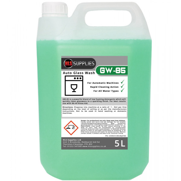 HLS GW-85 Auto Glass Wash 5L