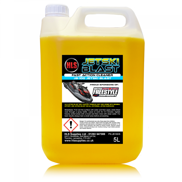 HLS Jetski-Blast Rapid Action Cleaner 5L