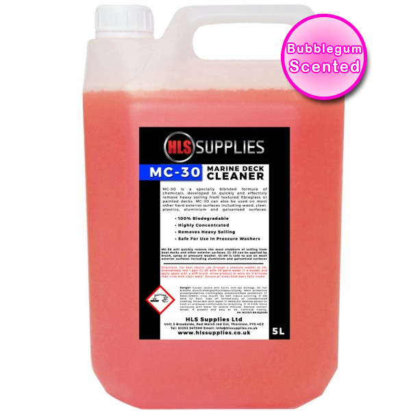 HLS MC-30 - Marine Deck Cleaner 5L - Bub...