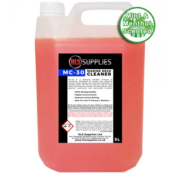 HLS MC-30 - Marine Deck Cleaner 5L - Menthol Scented