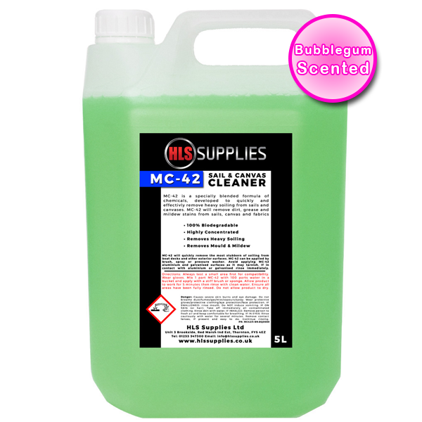 HLS MC-42 - Sail & Canvas Cleaner 5L...