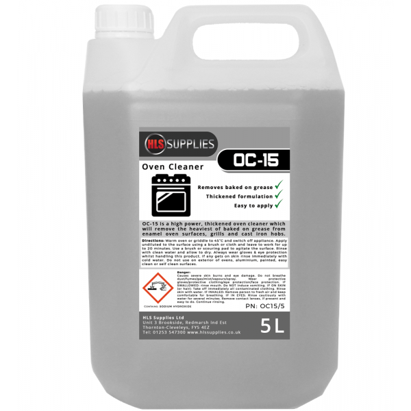 HLS OC-15 Oven Cleaner 5L