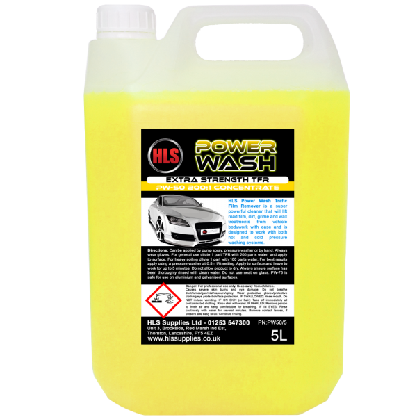 HLS PW-50 - Power Wash 5L