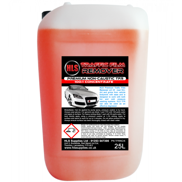 HLS TFR - Traffic Film Remover Non-Caustic 25L