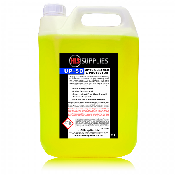 HLS UP-50 - UPVC Cleaner & Protector - Solvent Free 5L