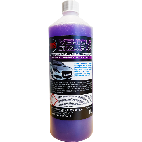 HLS VS-90 Vehicle Shampoo 1L