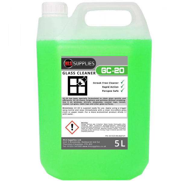 HLS GC-20 - Glass Cleaner 5L