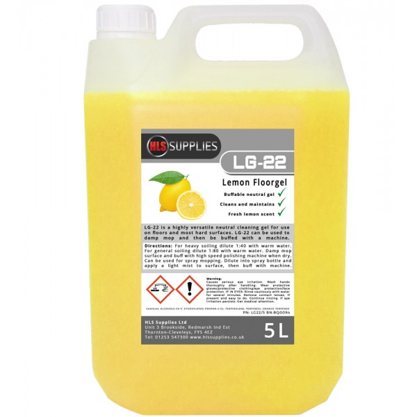 HLS LG-22 - Lemon Floorgel 5L