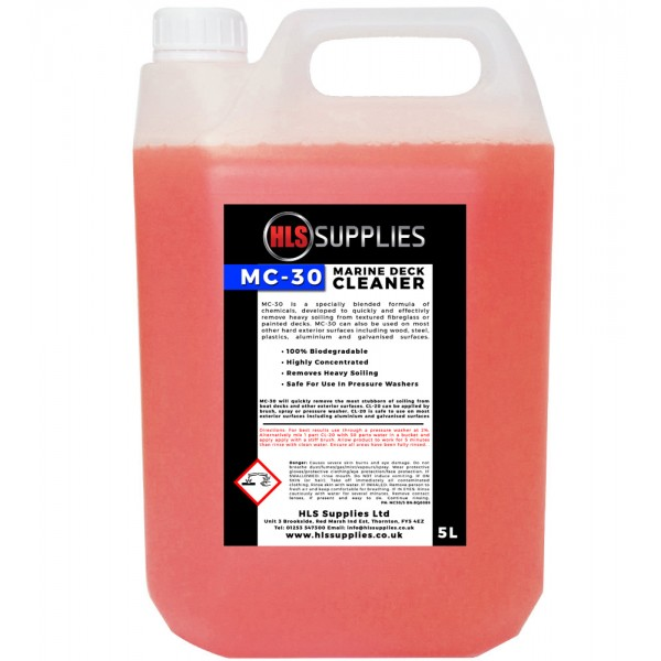 HLS MC-30 - Marine Deck Cleaner 5L