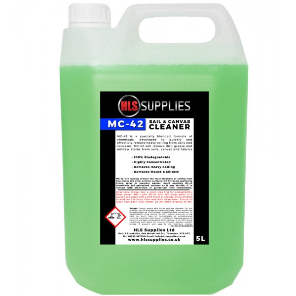 HLS MC-42 - Sail & Canvas Cleaner 5L