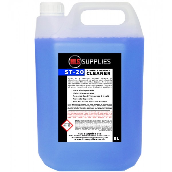 HLS ST-20 - Stone & Render Cleaner 5L