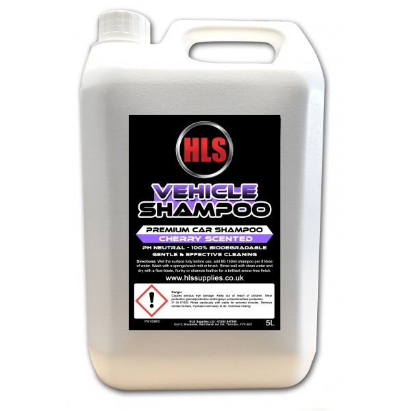 HLS VS-90 Vehicle Shampoo 5L