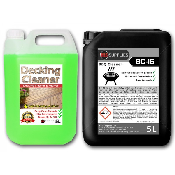 HLS Decking & Barbecue Cleaner Kit