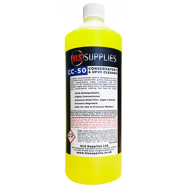 HLS CC-50 - Conservatory & UPVC Cleaner & Protector 1L