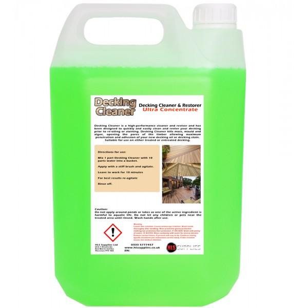 HLS Decking Cleaner - Cleaner & Reviver 5L