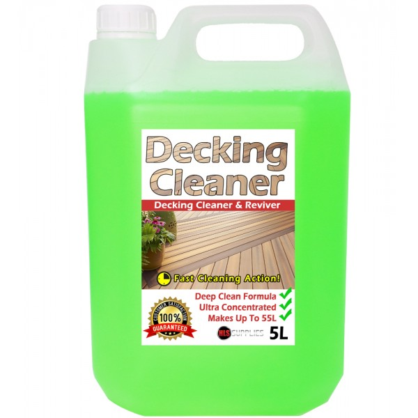 HLS Decking Cleaner - Cleaner & Reviver 5L