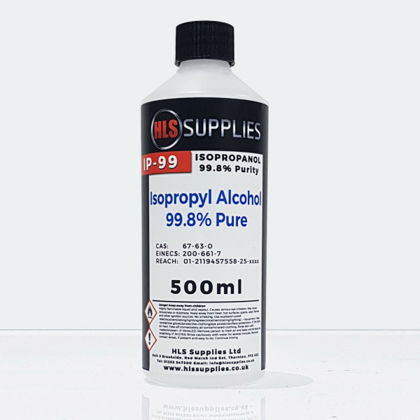 HLS IP-99 - Isopropyl Alcohol 99.8% 500ml