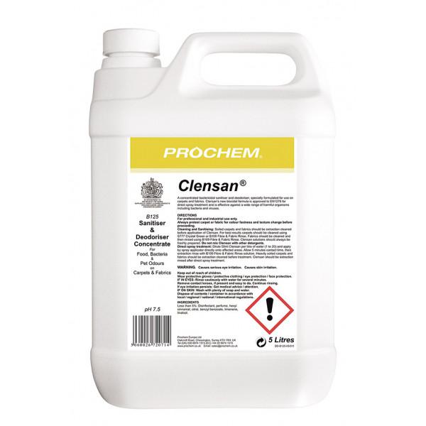 Prochem Clensan B125-05 5L - Virucidal &...